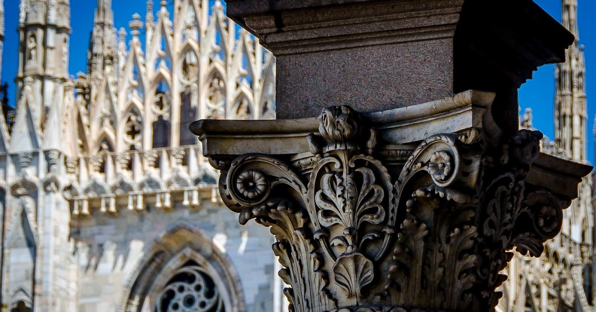 "A detail in ""Piazza del Duomo""..."