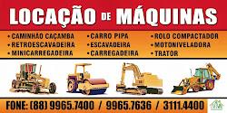 LOCAÇÃO DE MAQUINAS