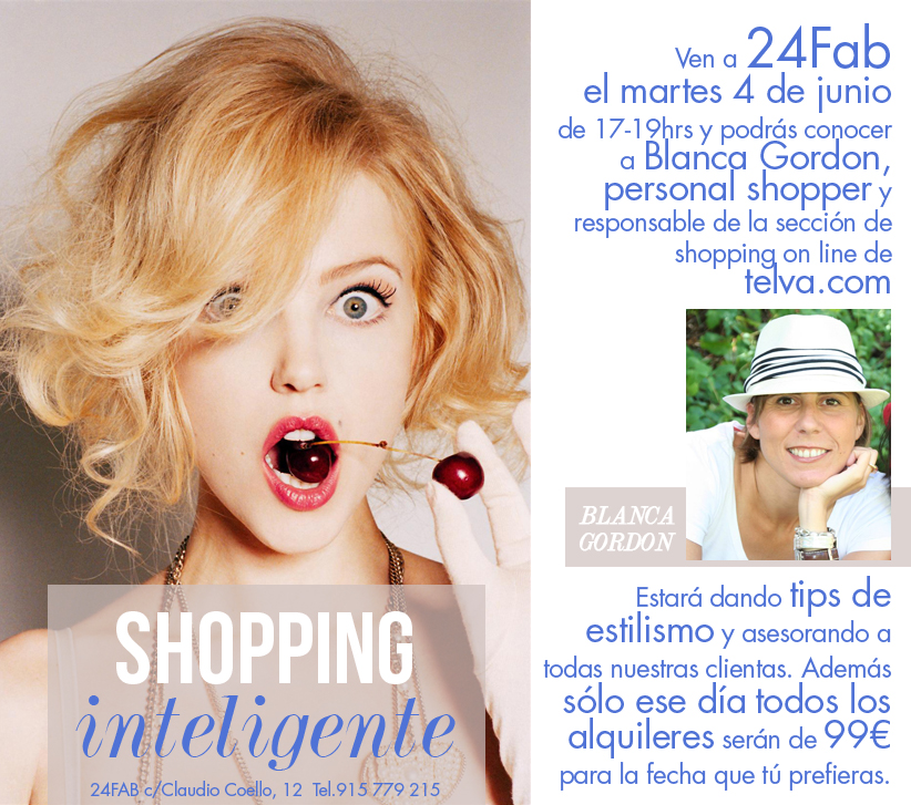 Shopping Inteligente: 4 de junio en 24FAB