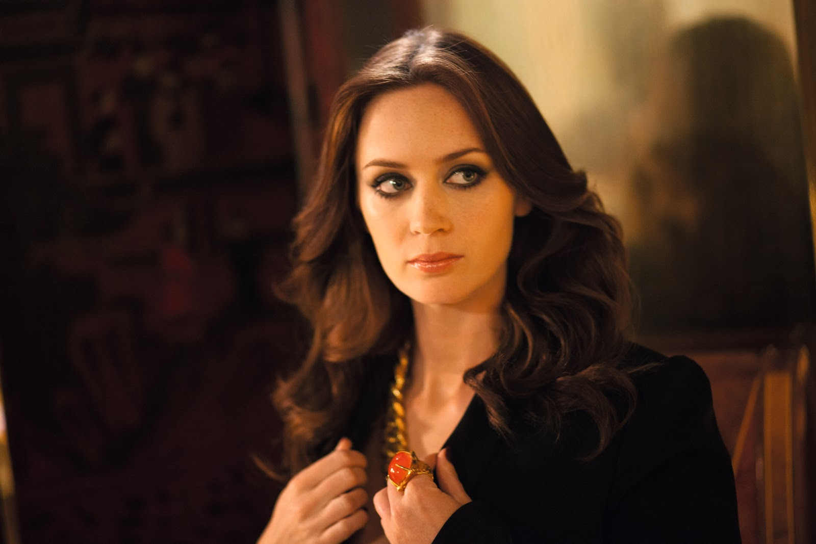 Emily Blunt is the new face of YSL Opium