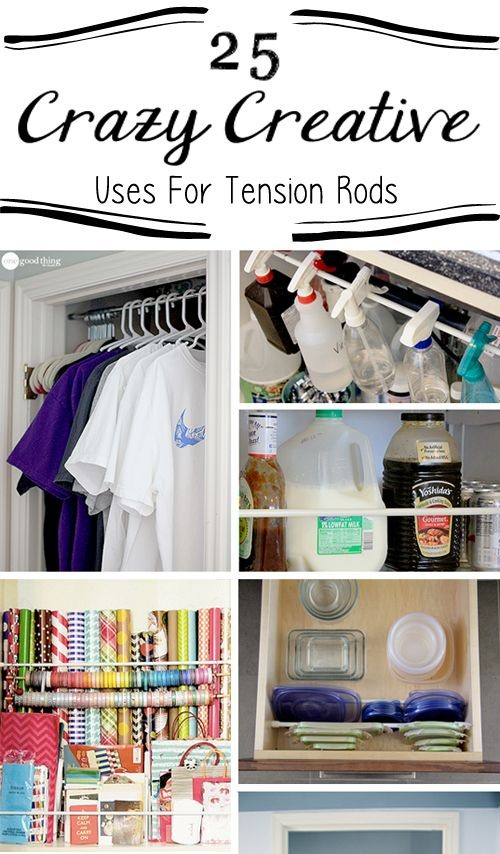 25 Crazy Creative Uses for Tension Rods