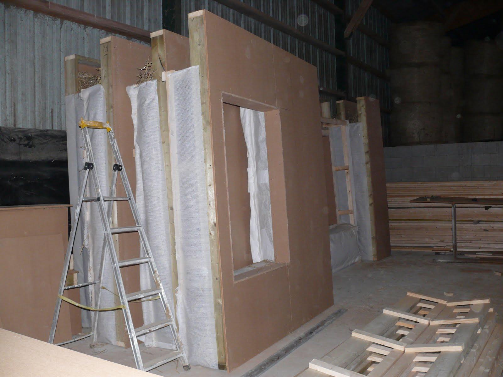 Maison structure bois isolation paille for Isolation maison bois