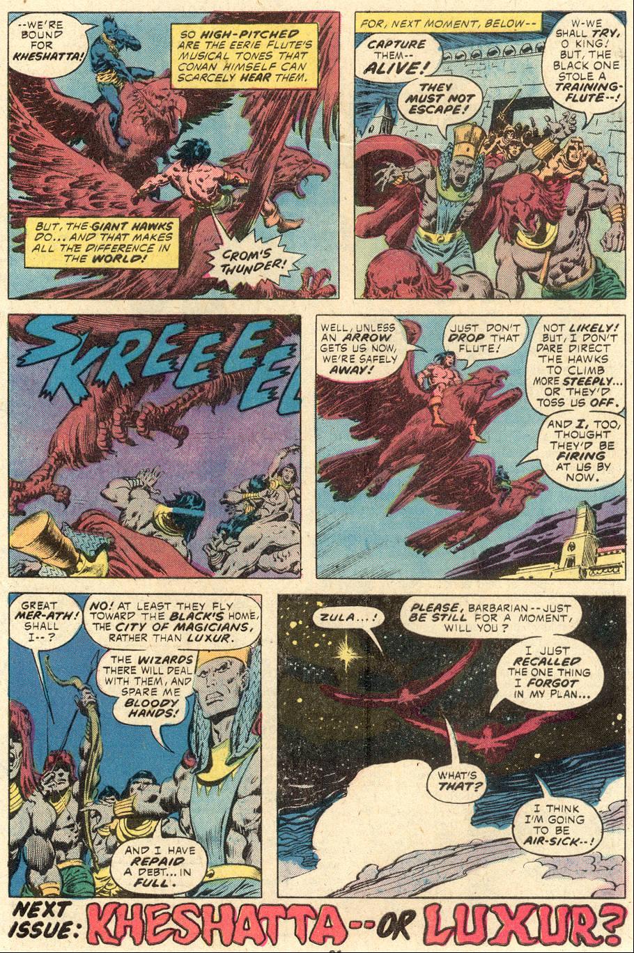 Conan the Barbarian (1970) Issue #84 #96 - English 18