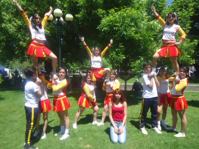 Cheerleaders Liceo Politécnico