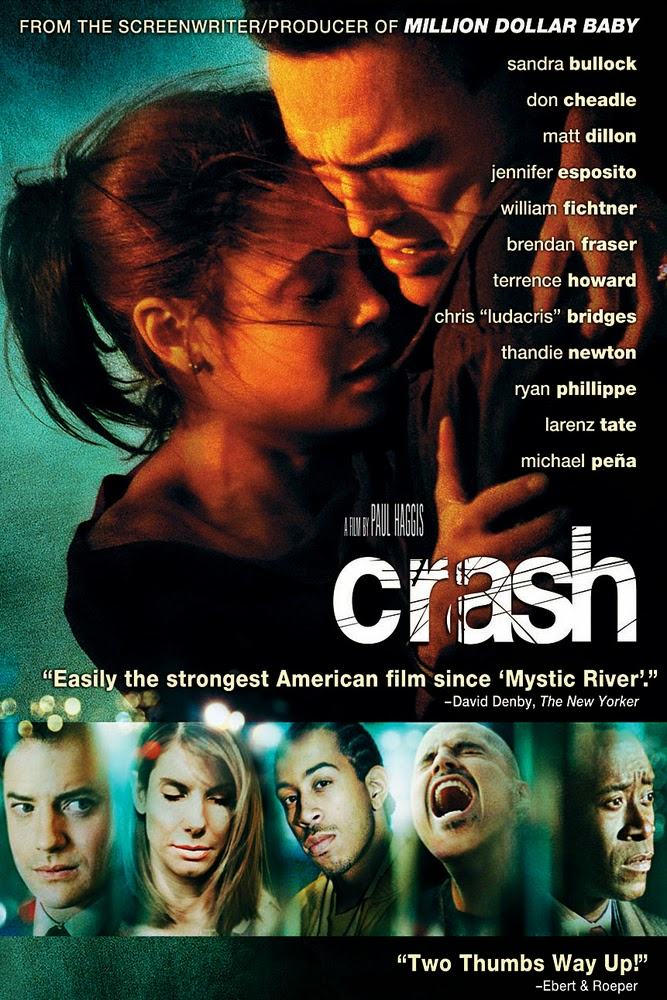 film crash essay I introduction thesis statement: the movie crash shows some racial and social differences between the characters rick cabot and anthony ii crash presents the socio economic lifestyle between rick and anthony, and how it is influenced by their race, their appearance and dress.