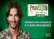 Ver Francisco el Matemático capítulo 15 03/03/2017 Novela HD