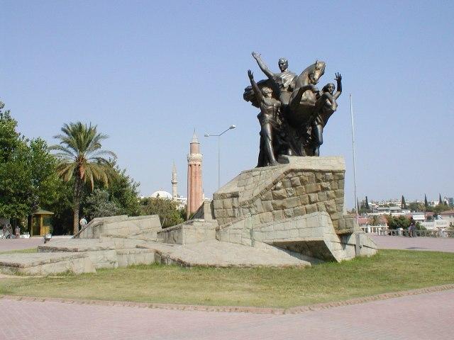 Ataturk Monument - Antalya, Turkey  Journey Wallpapers