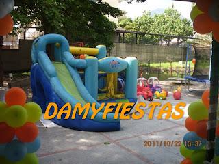 Lo Mejor Para Sus Fiestas Infantiles  Fiesta De Manny A La Obra
