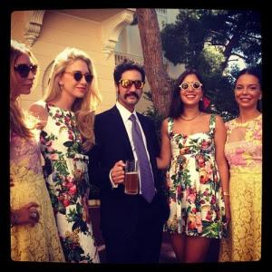 Invitadas a la boda de Andrea Casiraghi y Tatiana Santo Domingo