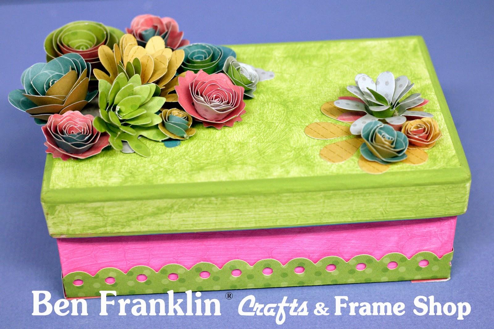 Ben franklin crafts and frame shop diy paper flower gift box for ben franklin crafts and frame shop diy paper flower gift box for mothers day mightylinksfo