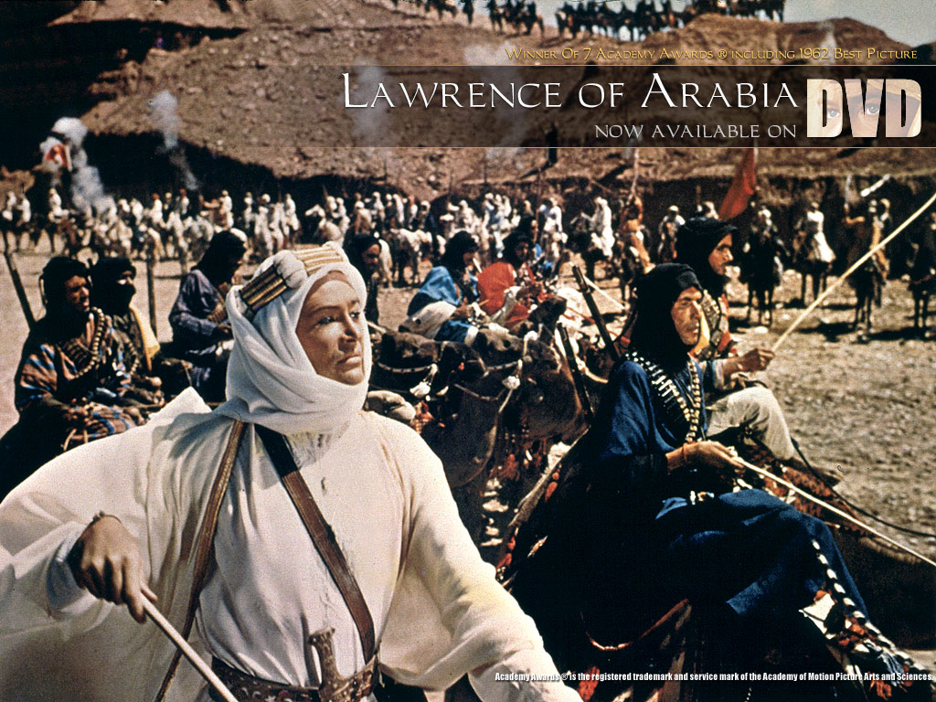 a movie review of lawrence of arabia Peter o'toole stars in the historical epic: 'lawrence of arabia' - review by the  mad movie man.