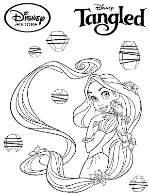 Disney Princess Coloring Pages Rapunzel Tangled Princess Disney Princess Coloring Pages Rapunzel