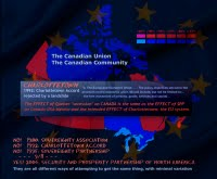 THE PLOT AGAINST QUEBEC AND CANADA: Imposition of the European Union system by 9./11 and secession