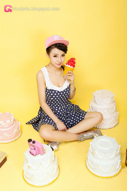 5 Lan Qi - pretty sweet fashion dress - very cute asian girl - girlcute4u.blogspot.com