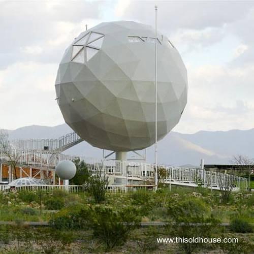 Casa esférica de gran tamaño en Estados Unidos