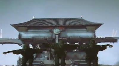 Mirai Ninja robot ninjas castle tank