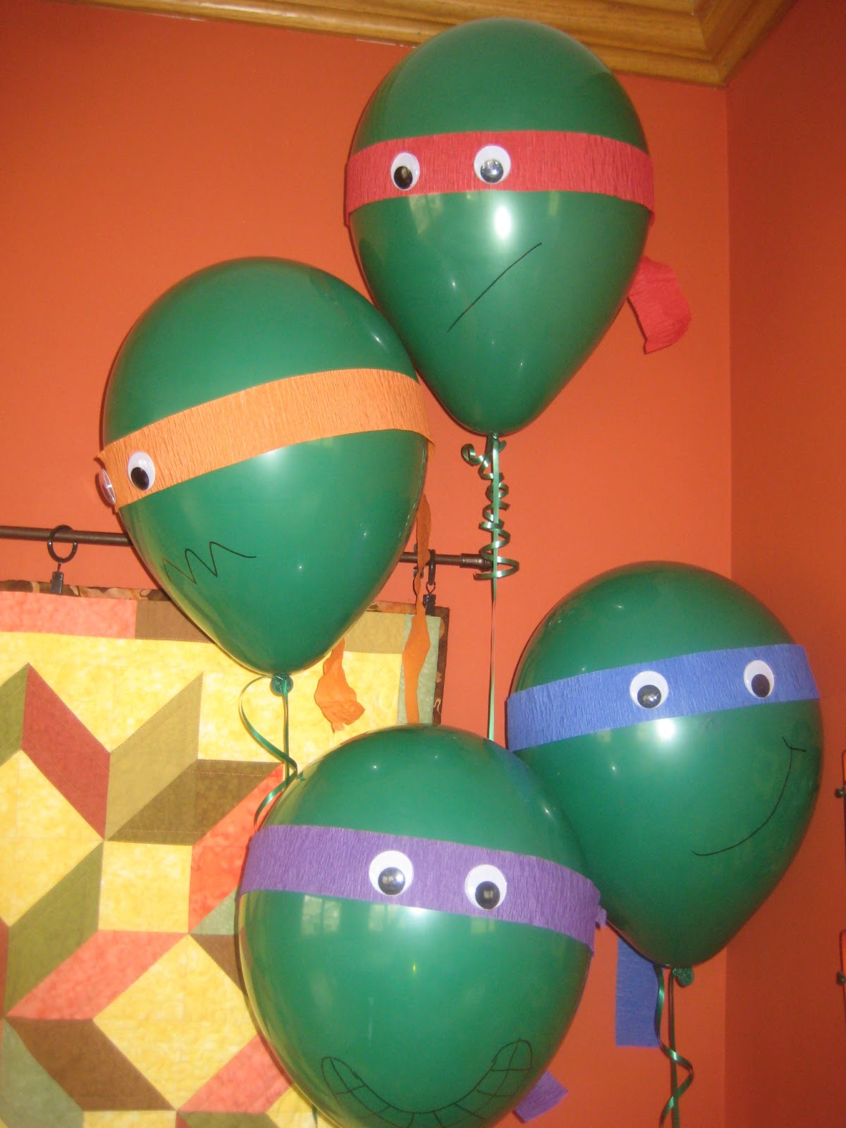 Ninja Turtle Birthday Decoration Ideas