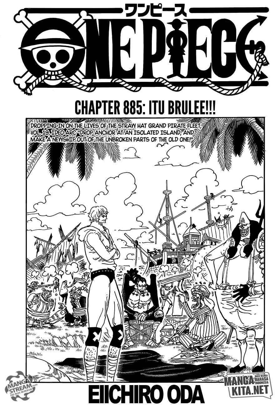 One Piece Chapter 885-1
