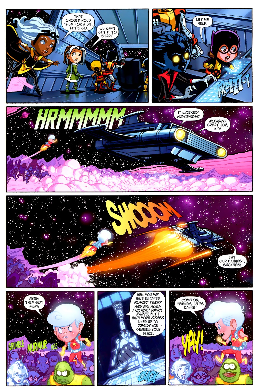 Read online X-Babies comic -  Issue #2 - 11