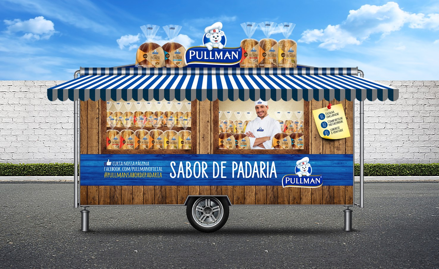 Padaria Artesanato Do Sabor ~ no Stillo Trailer Sabor de Padaria percorre S u00e3o Paulo