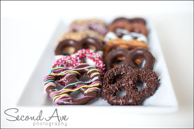 pretzels, dessert, chocolate, chocolate covered pretzels, food photography, food photographer, Virginia Food Photographer, Virginia Food Photography, Virginia photographer, hand made,