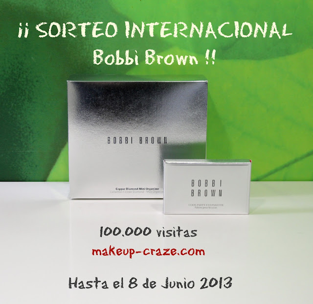 Sorteo Bobbi Brown en Makeup Craze!