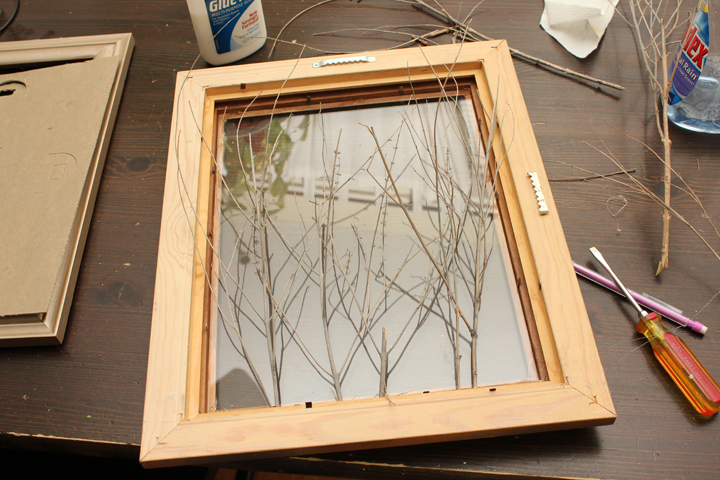 365 Days to Simplicity: How to make a Shadow Box Frame