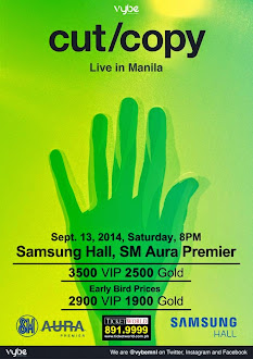 Cut/Copy Live in Manila