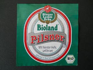 Binger Lammbräu Bioland Pilsner beer