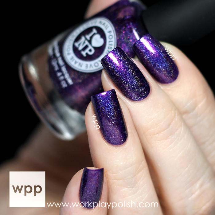 I Love Nail Polish (ILNP) Purple Plasma