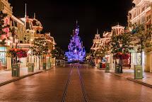 Background Christmas Disney World Main Street