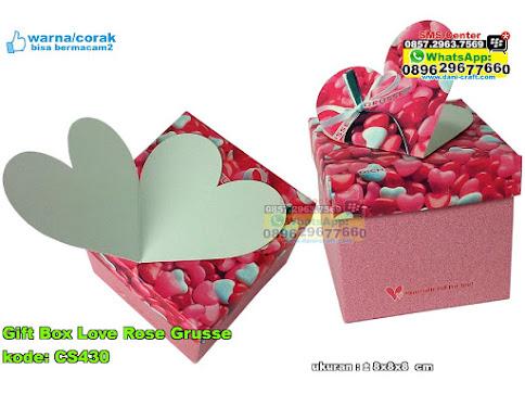 Gift Box Love Rose Grusse