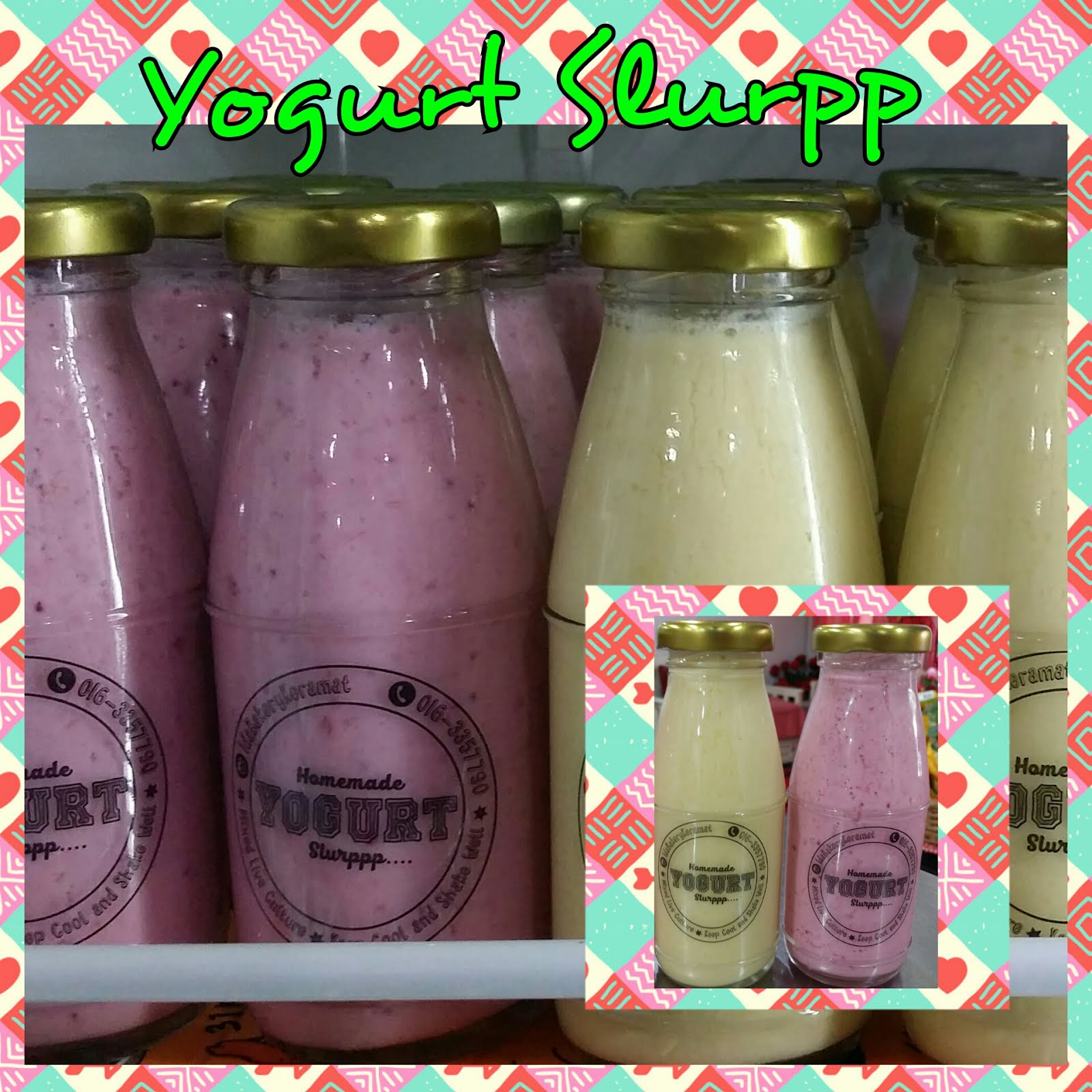 Kelas Homemade Yogurt Slurpp RM250