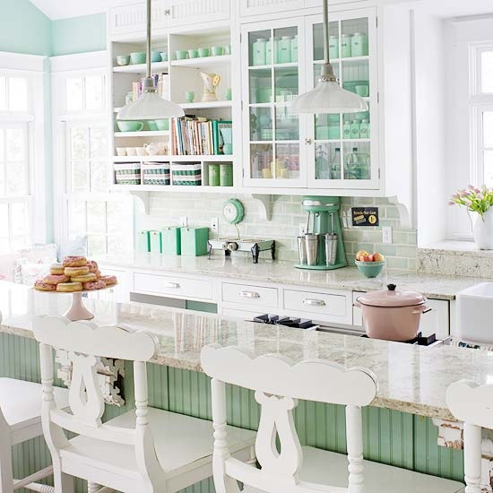 Coastal Design Tips Beachy Kitchen Decor: Decoração