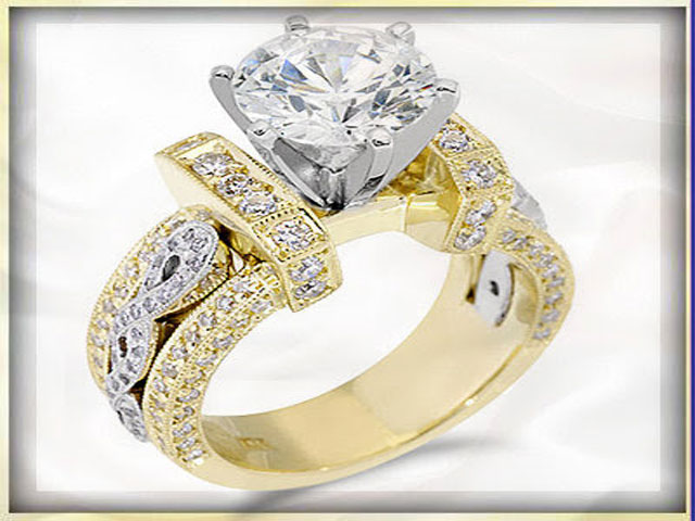 gold engagement ring designs