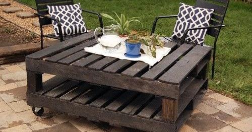 ideias jardim reciclado : ideias jardim reciclado:Cantinho da Bé: Decoração de Jardim com paletes recicladas