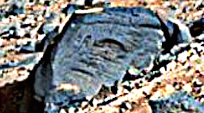 UFO Discovered Carved Into Rock On Mars 2015, UFO Sightings