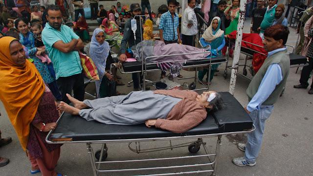 Forte terremoto atinge Afeganistão, Índia e Paquistão