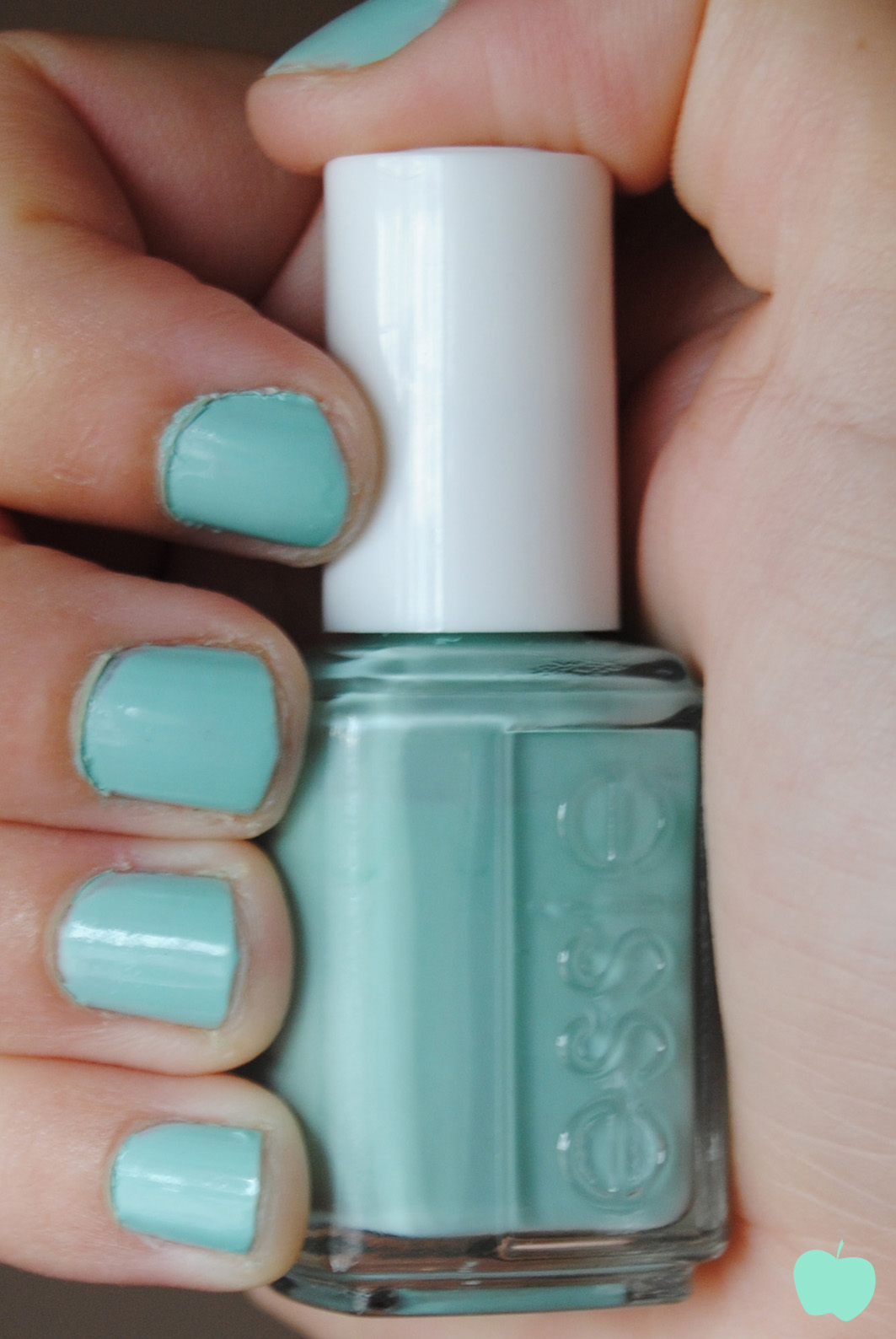Mint Candy Apple: Lacas de uñas verde menta