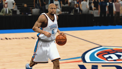 NBA 2K13 PC Patch Derek Fisher Cyberface