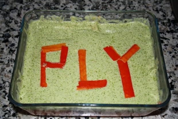 hacer pastel pescado
