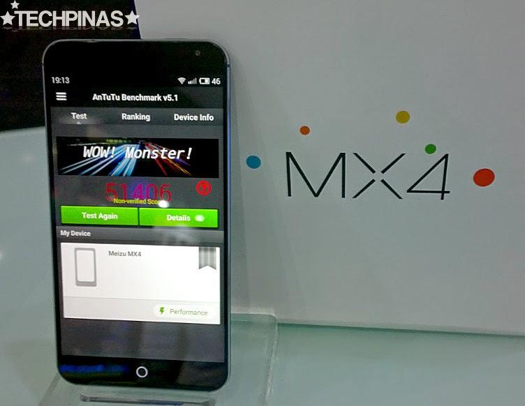 Meizu MX4, Meizu MX4 Antutu