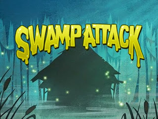 Screenshots of the Swamp Attack for Android tablet, phone.