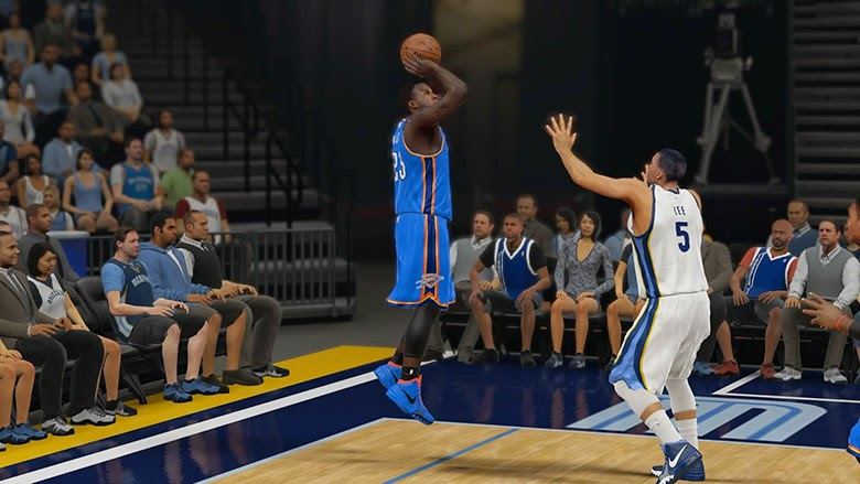 NBA 2K15 3pt & Mid-range Shot Rating Adjustments