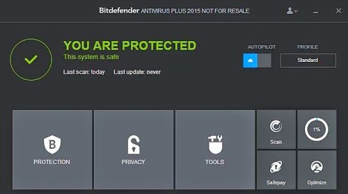 Bitdefender Antivirus Plus 2015 License Key