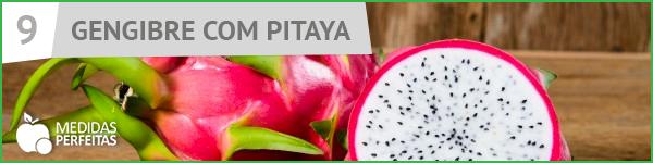 Suco de Gengibre com Pitaya - Receitas de Sucos Detox