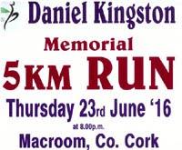 Charity 5k race in Macroom...Thurs 23rd June