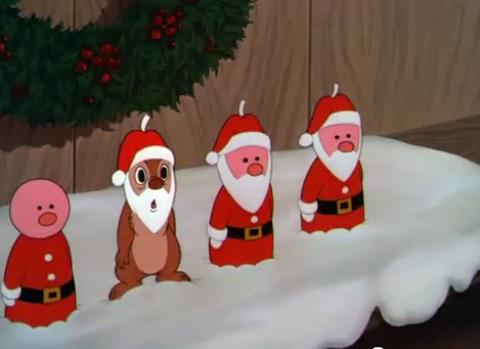 The Moldy Cannoli Christmas Cartoons Chip N Dale