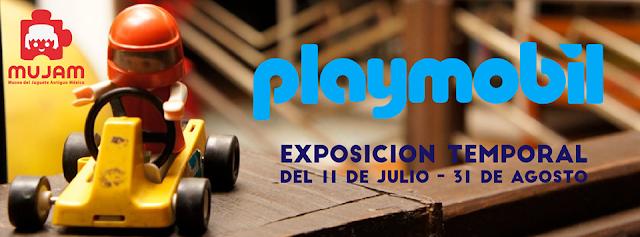 Historia y cultura general en la nueva exposición de Playmobil en el MUJAM