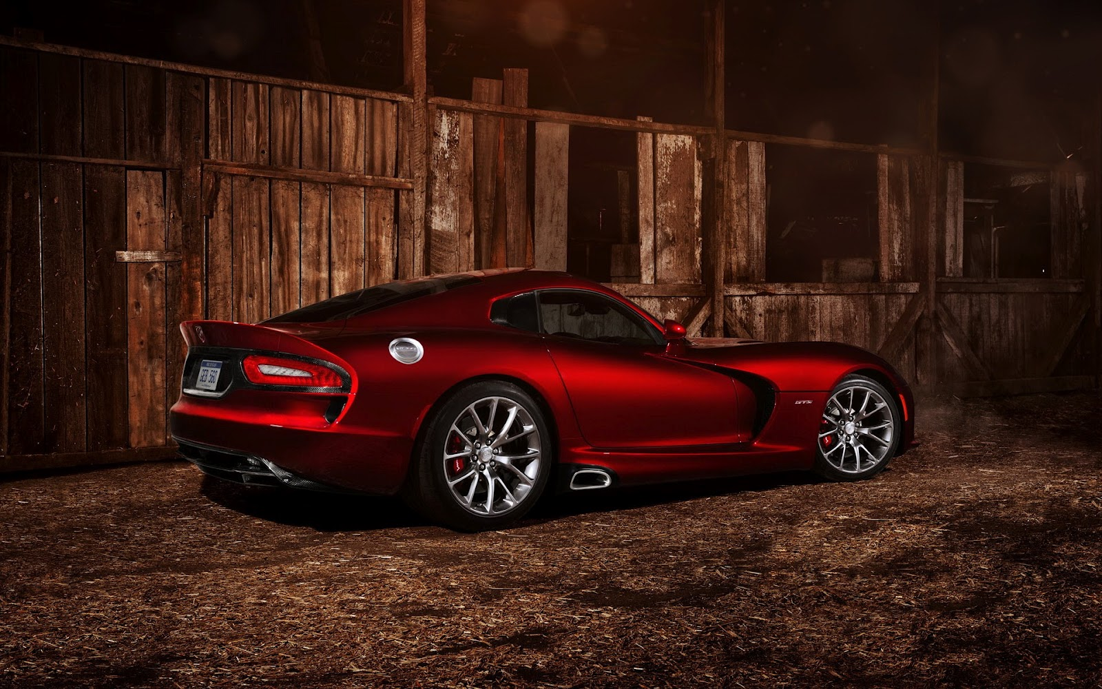 Red dodge srt viper gts 2013 hd car wallpapers